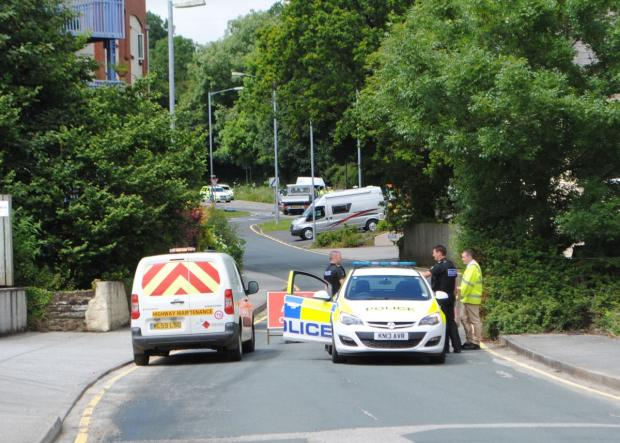 This is The West Country: Browns Hill B3292 Penryn Fatal Smash