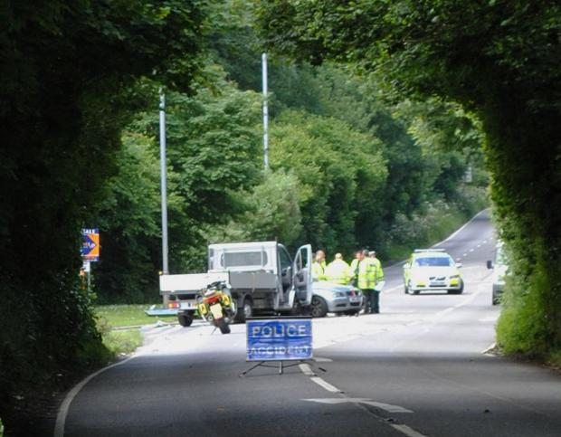 This is The West Country: B3292 Penryn Fatal Road Smash