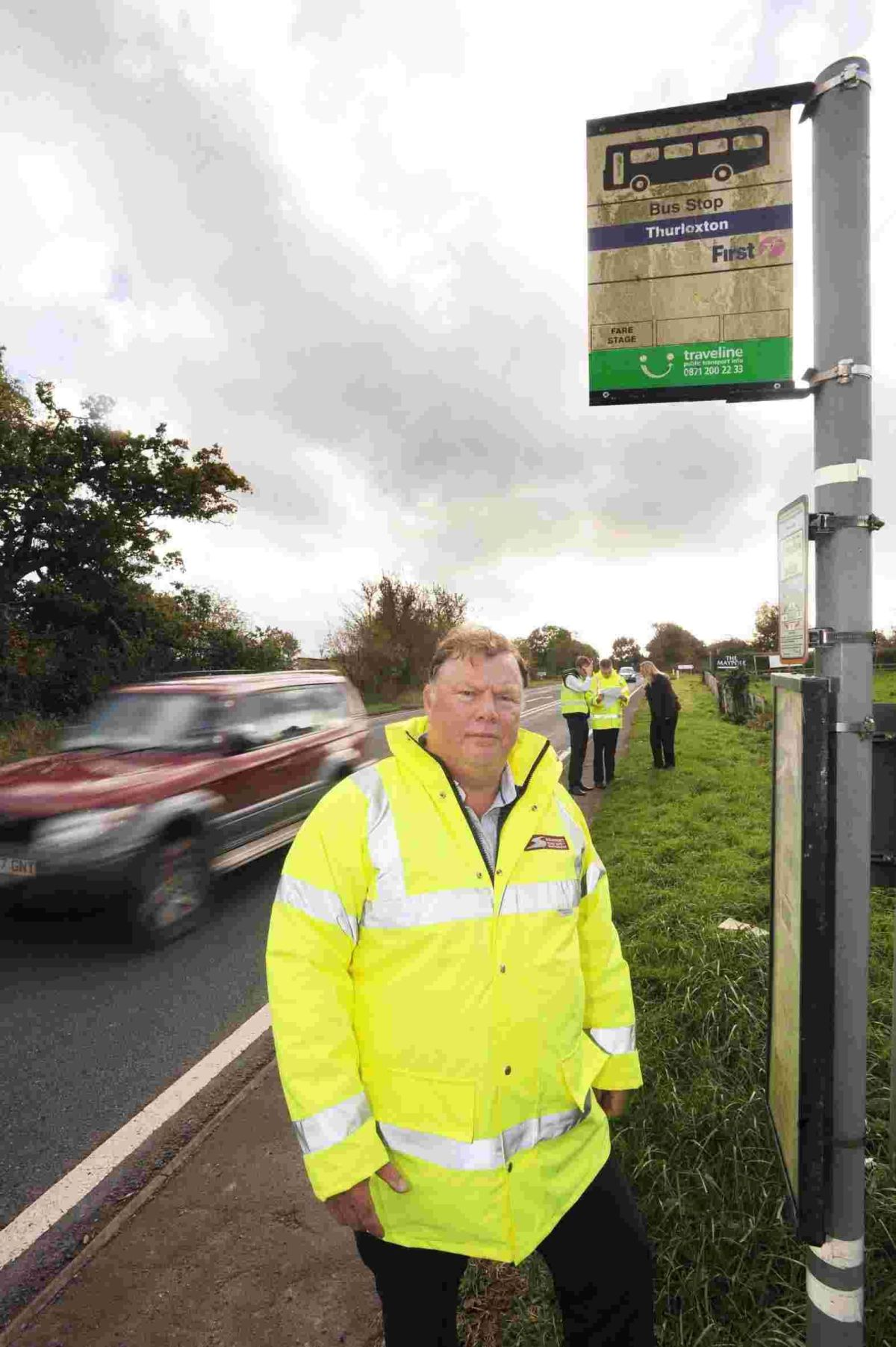 TERRY Beale, Somerset Road Safety manager said the stress of taking a test can be enormous.