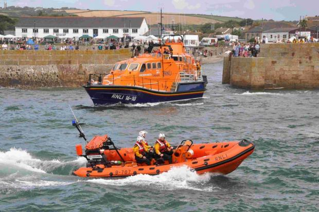 Porthleven Lifeboat Day cancelled due to Hurricane Bertha
