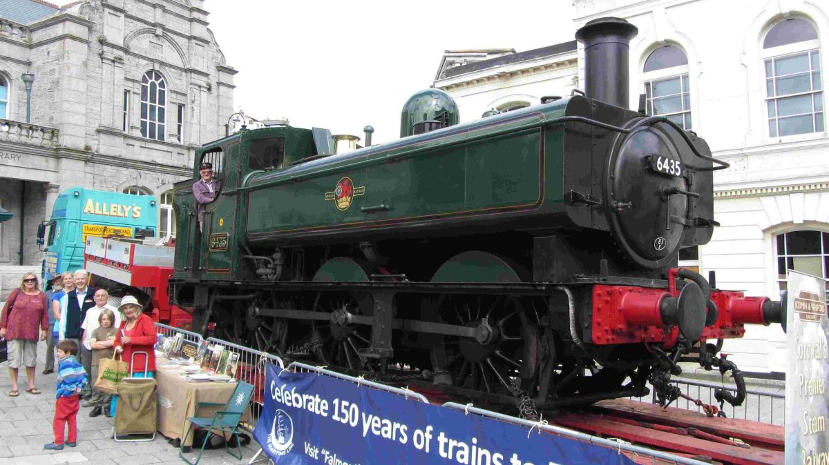 Crowds make tracks to Falmouth rail anniversary: PICTURES