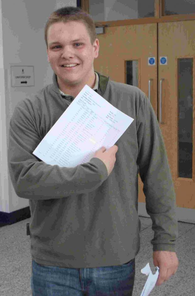 This is The West Country: Ben Hall not only lost his dad just as he was beginning year eight, but has also had to overcome dyslexia to gain 3 A* and 6 A grades