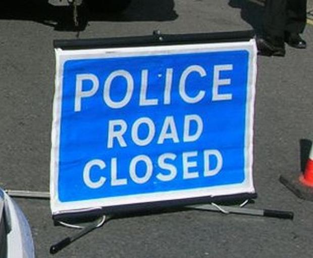 Unsafe garage sign closes Falmouth to Helston road