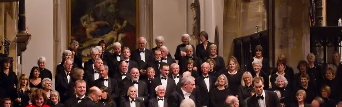Choral society in good voice