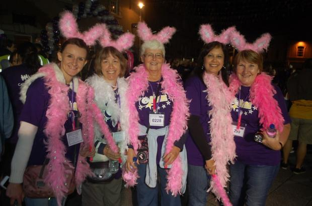 Moonlight Memory Walk in Falmouth: PICTURES