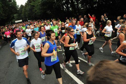 Try 10k road race