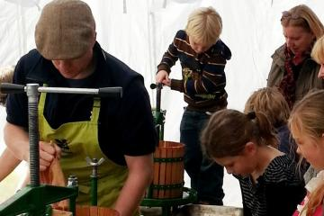 COMING UP: National Apple Day celebrations at Killerton