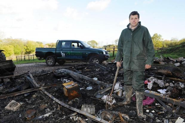 This is The West Country: Couple's self-build home destroyed in Blackdown Hills blaze