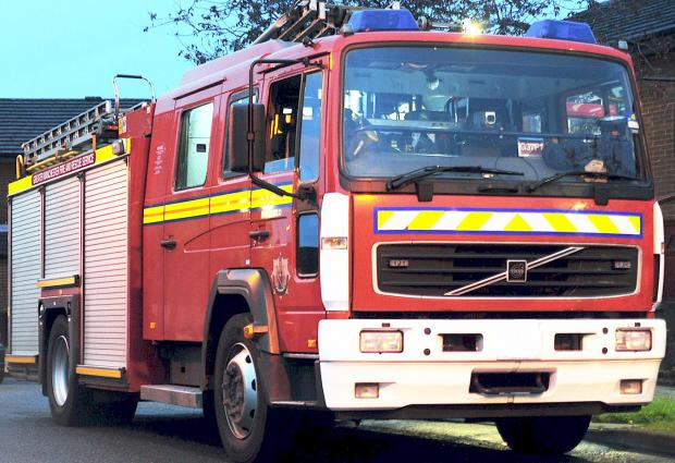 Kitchen catches fire in Taunton