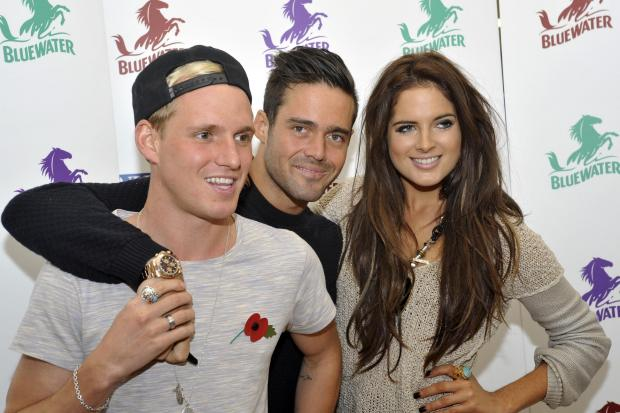 Jamie Laing, left, and Binky Felstead