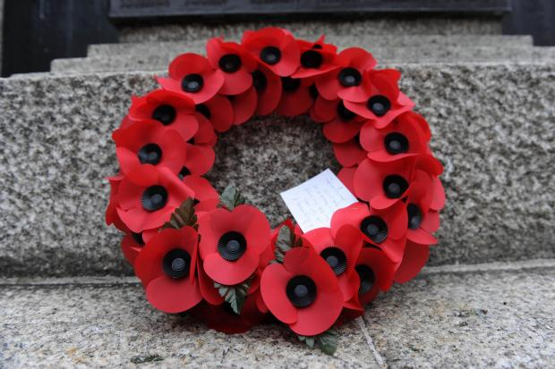 Remembrance Sunday services around Cornwall: DETAILS