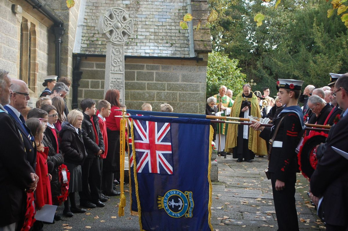 A service was held at St Gluvias Church, Penryn