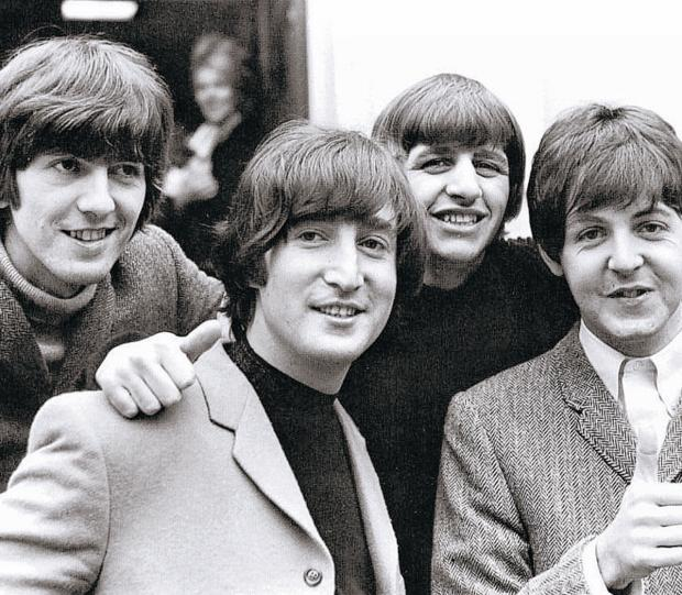 FAB FOUR: George, John, Ringo and Paul.