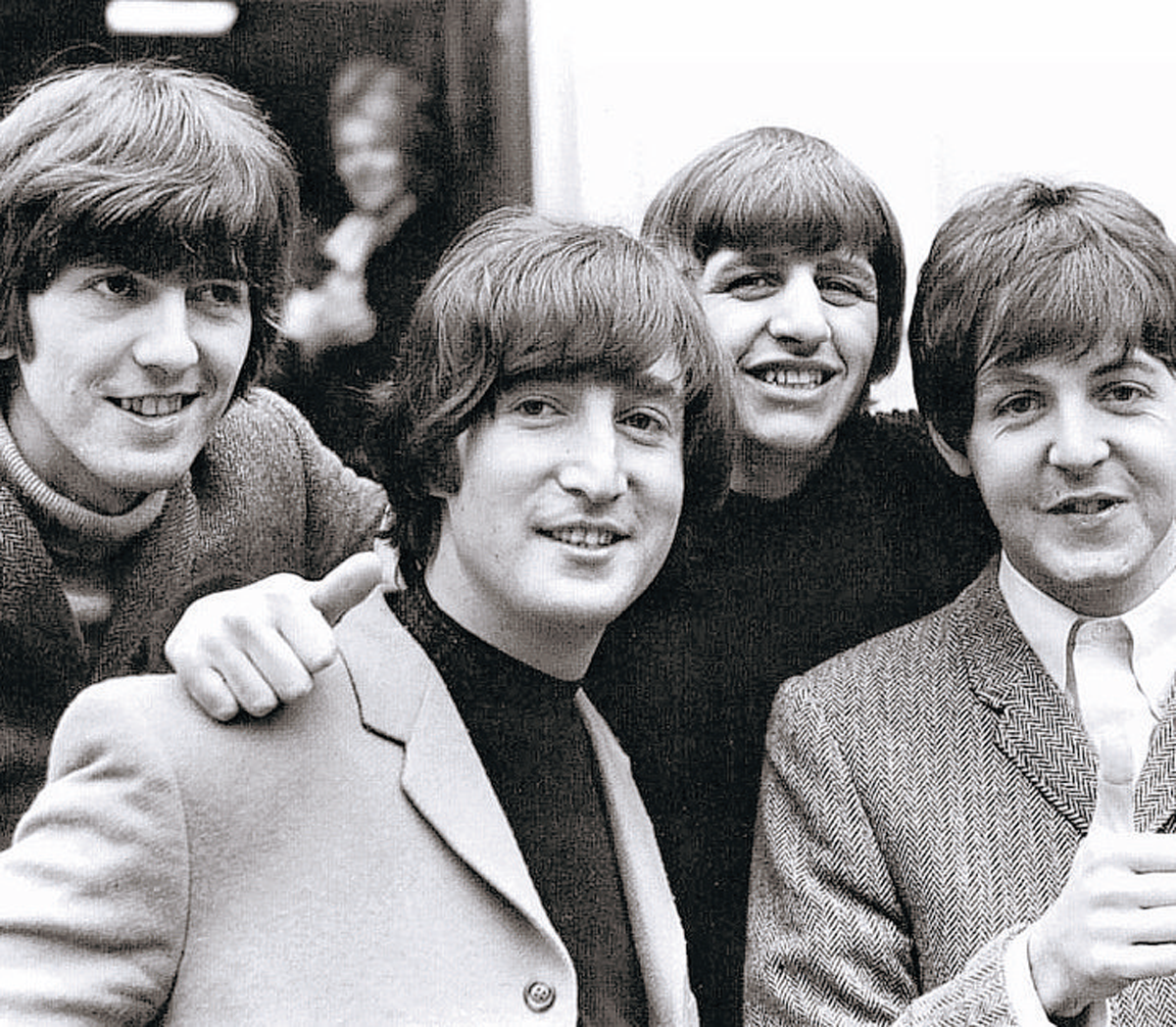 GEORGE Harrison, John Lennon, Ringo Starr and Paul McCartney paid a visit to West Somerset in 1964. PHOTO: Archive.