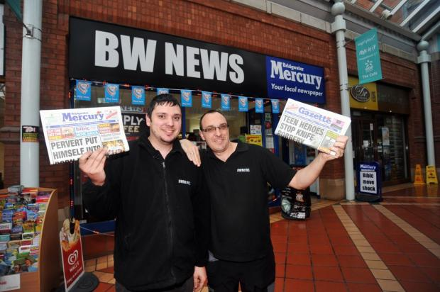 This is The West Country: BW News collecting empty printer catridges for new hospital
