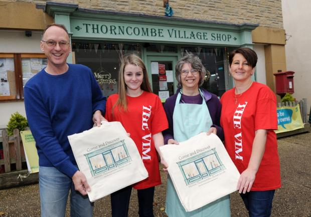 Thorncombe village shop attracts Californian interest