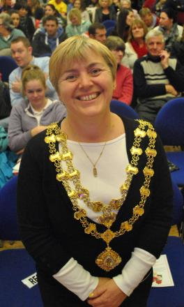MAYOR Jenny Kenton.