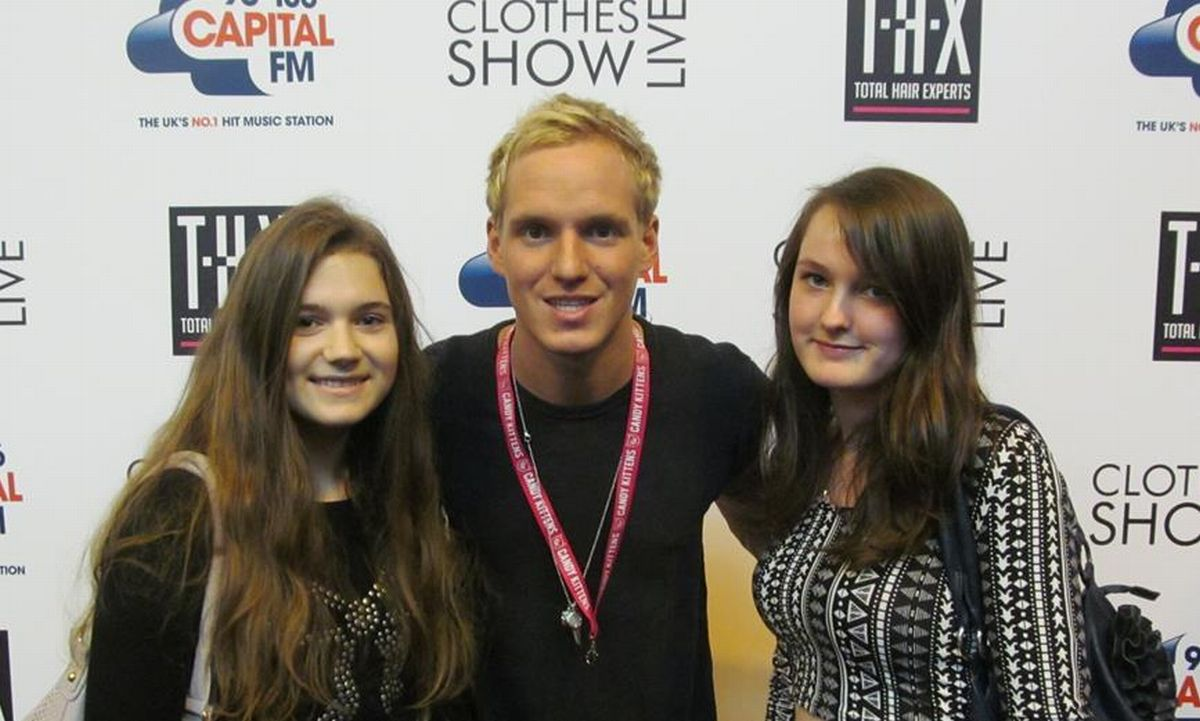 WERONIKA Kwak and Jade Sowden with Made in Chelsea star Jamie Laing.