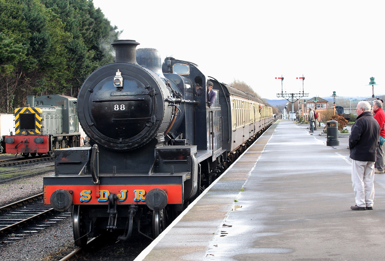 THERE will be more than just trains on offer at the West Somerset Railway's Ladies Day. PHOTO: Steve G
