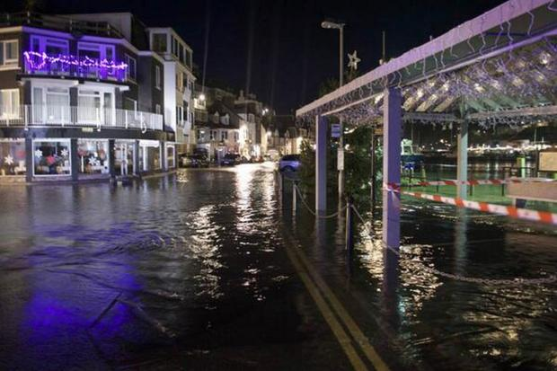 Coastal communities brace as high winds and tides return