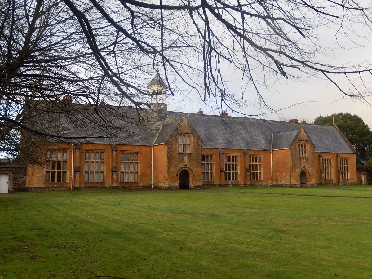 Old Blundell's School in Tiverton, now owned by the National Trust.