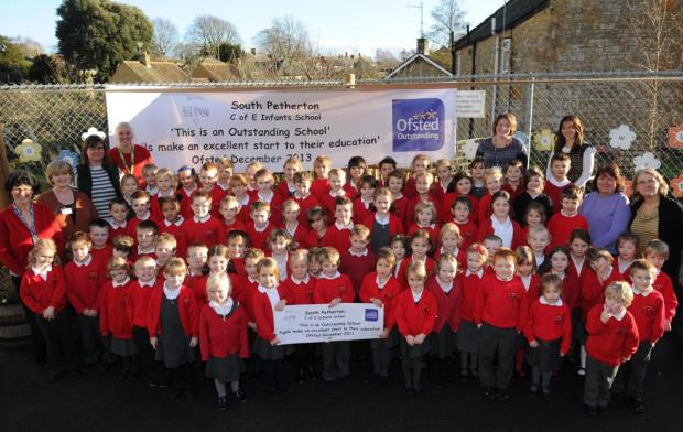 Ofsted joy at 'outstanding' South Petherton Infants School
