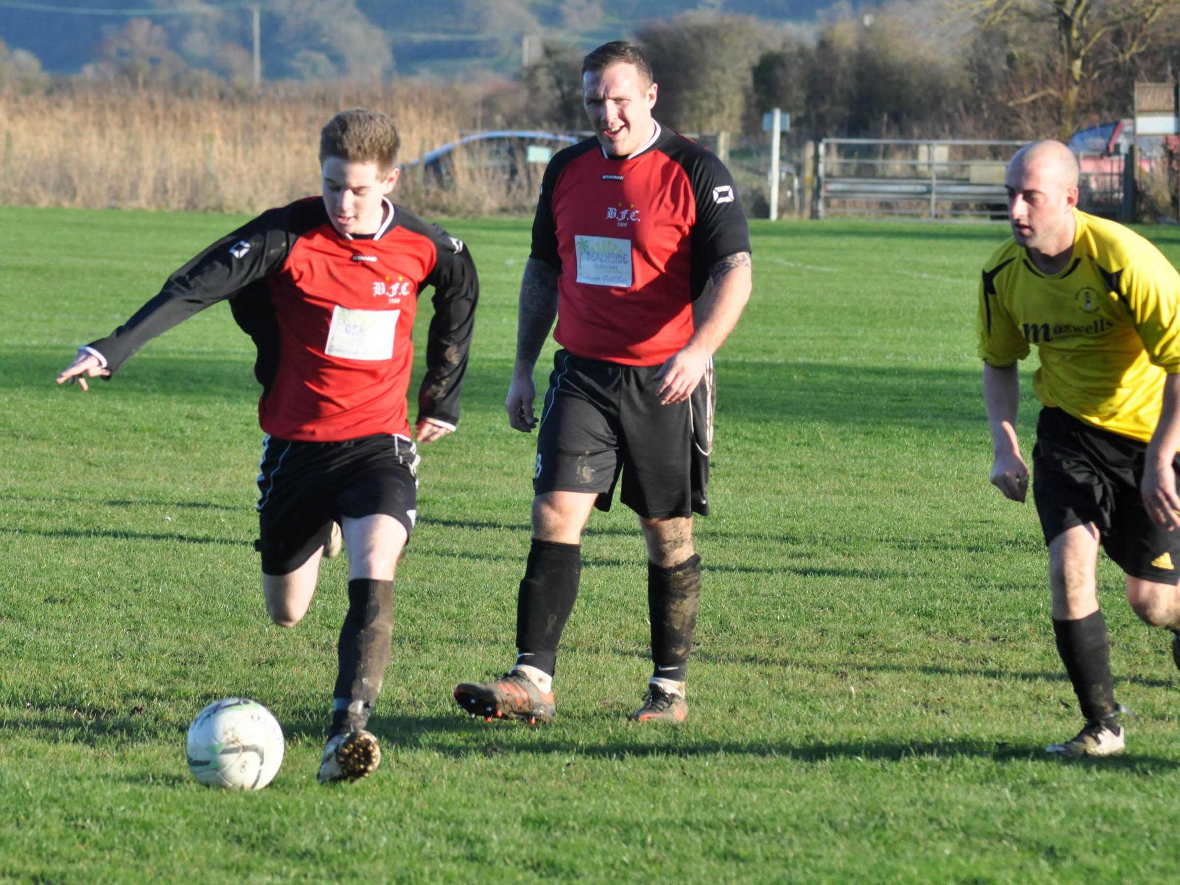 Bragging rights go to Berrow in Page Shield