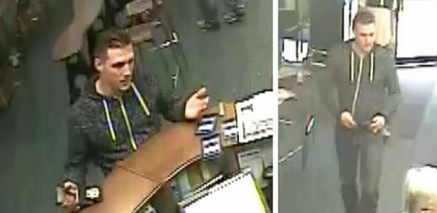 This is The West Country: CCTV images release of man impersonating police officer in Chard