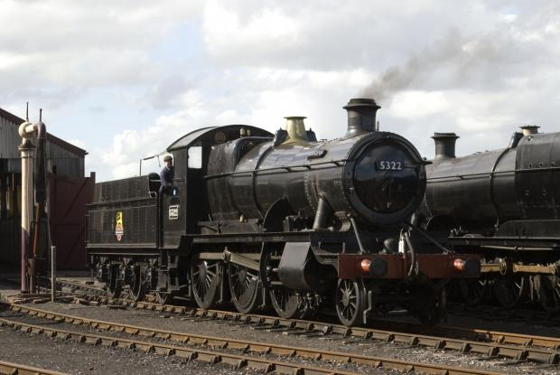 This is The West Country: THE 5322 'mogul' train will be making an appearance at the Spring Steam Gala. PHOTO: Submitted.