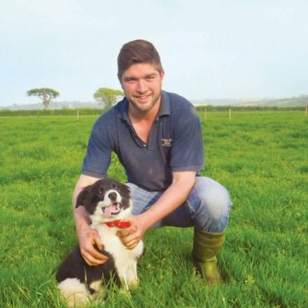 Rugby playing hunk in Cornwall up for 'sexiest' farmer award