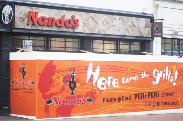 Nando's in North Street, Taunton