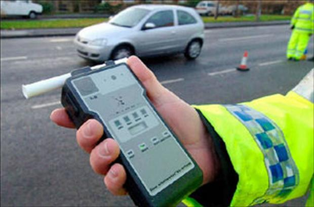Christmas drink drivers increase, but fewer motorists tested
