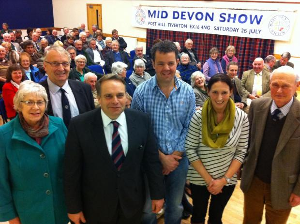 Farmer John is new Mid Devon Show president