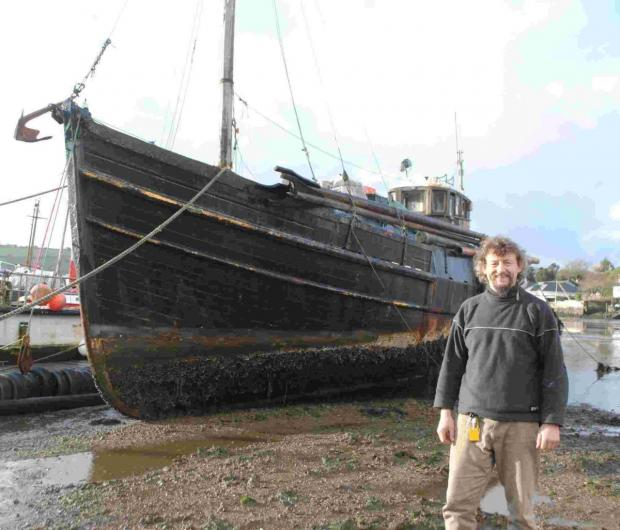 This is The West Country: Bid to create a tall ship for the communuity