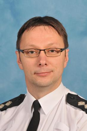 Insp Andy Pritchard has spent over 20 years in the police.