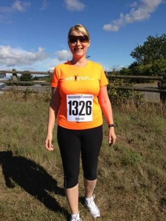 Ex-news editor running Taunton Half Marathon in dad's memory for Kidney Research UK