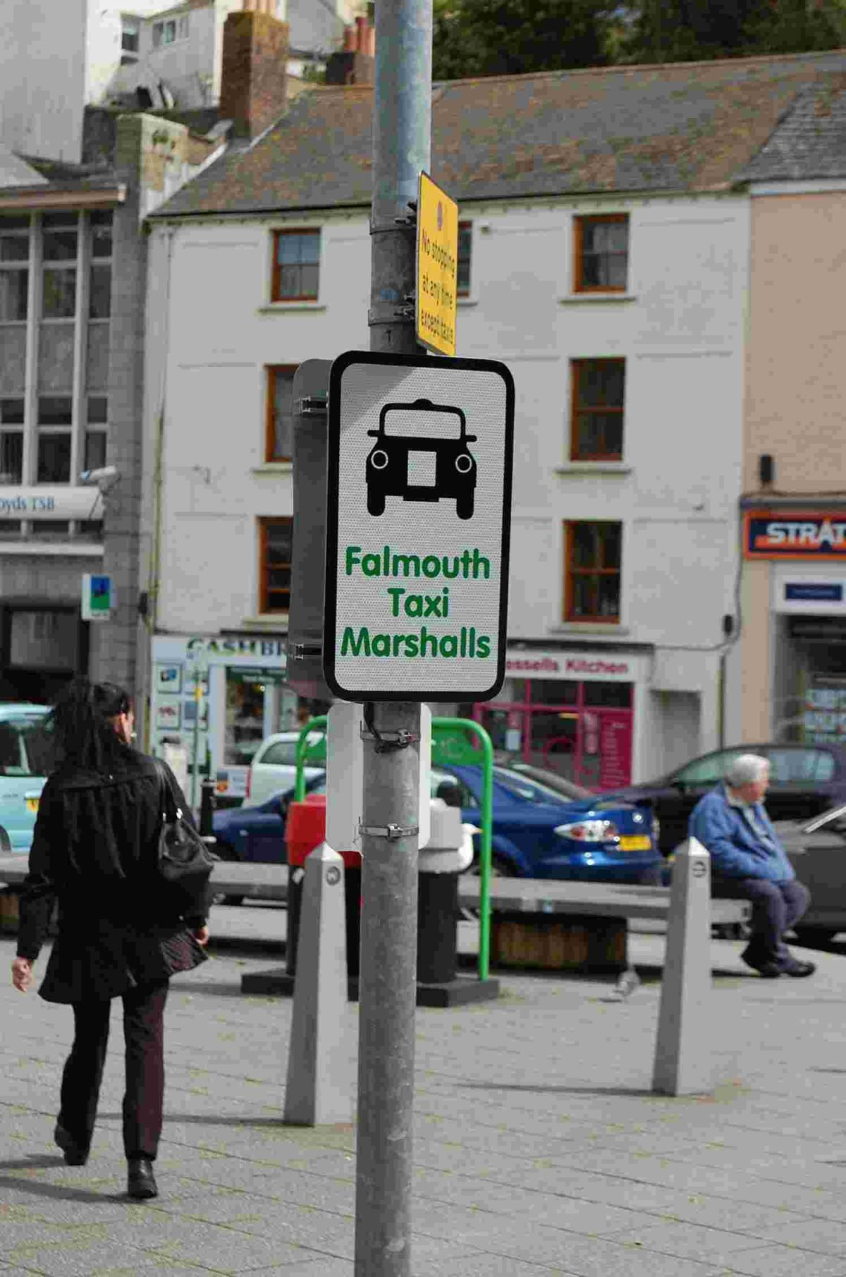 Crime fears as plug is pulled on Falmouth taxi marshalls