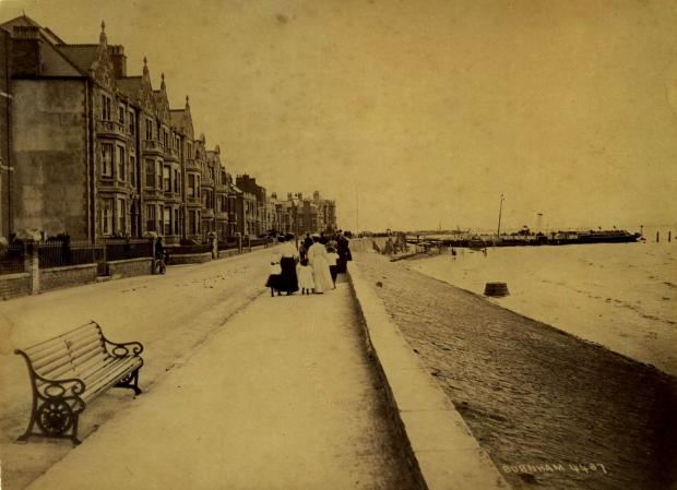 Burnham, circa 1850. Photo: submitted.