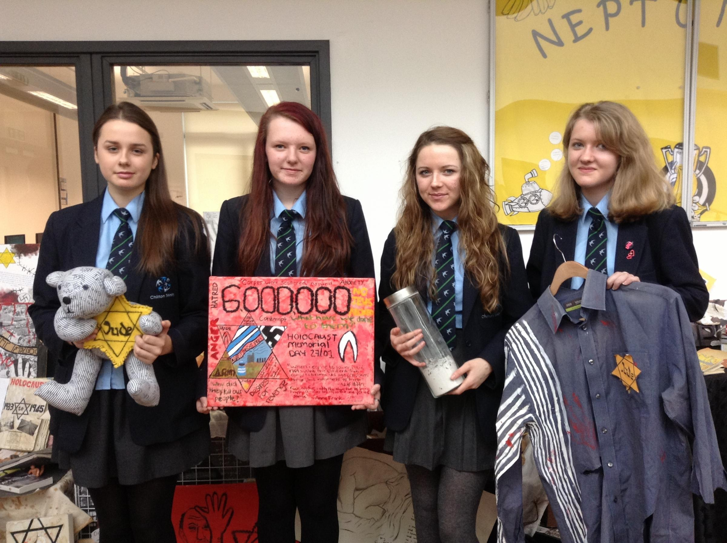 Chilton students appeal for help creating huge Holocaust memorial