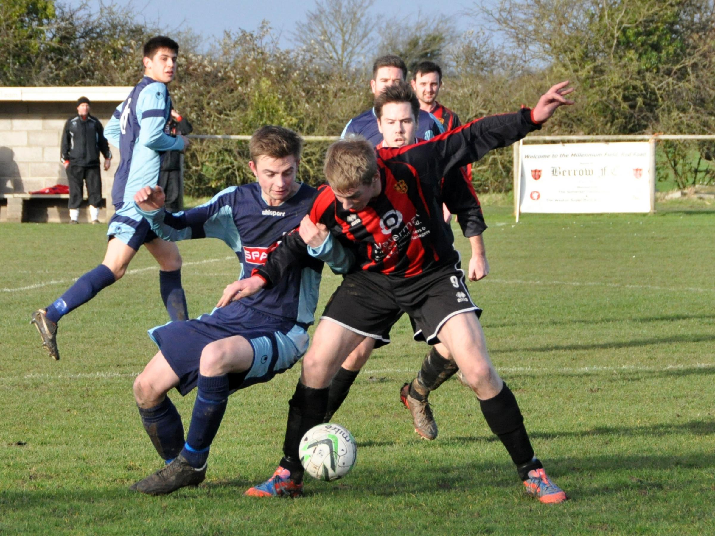 Berrow slump to third straight defeat at struggling Ilminster
