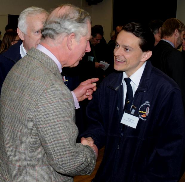 BARB's Mark Newman meets Prince Charles