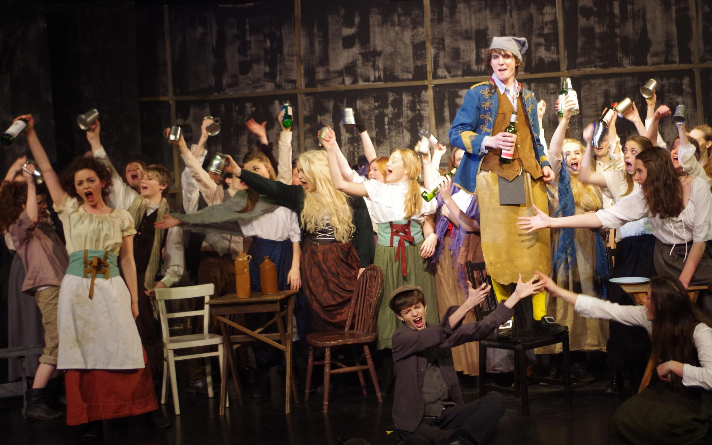School Les Miserables production a sell-out success