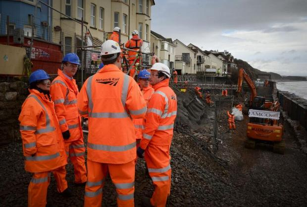 Prime Minister visits Dawlish to gauge rail damage