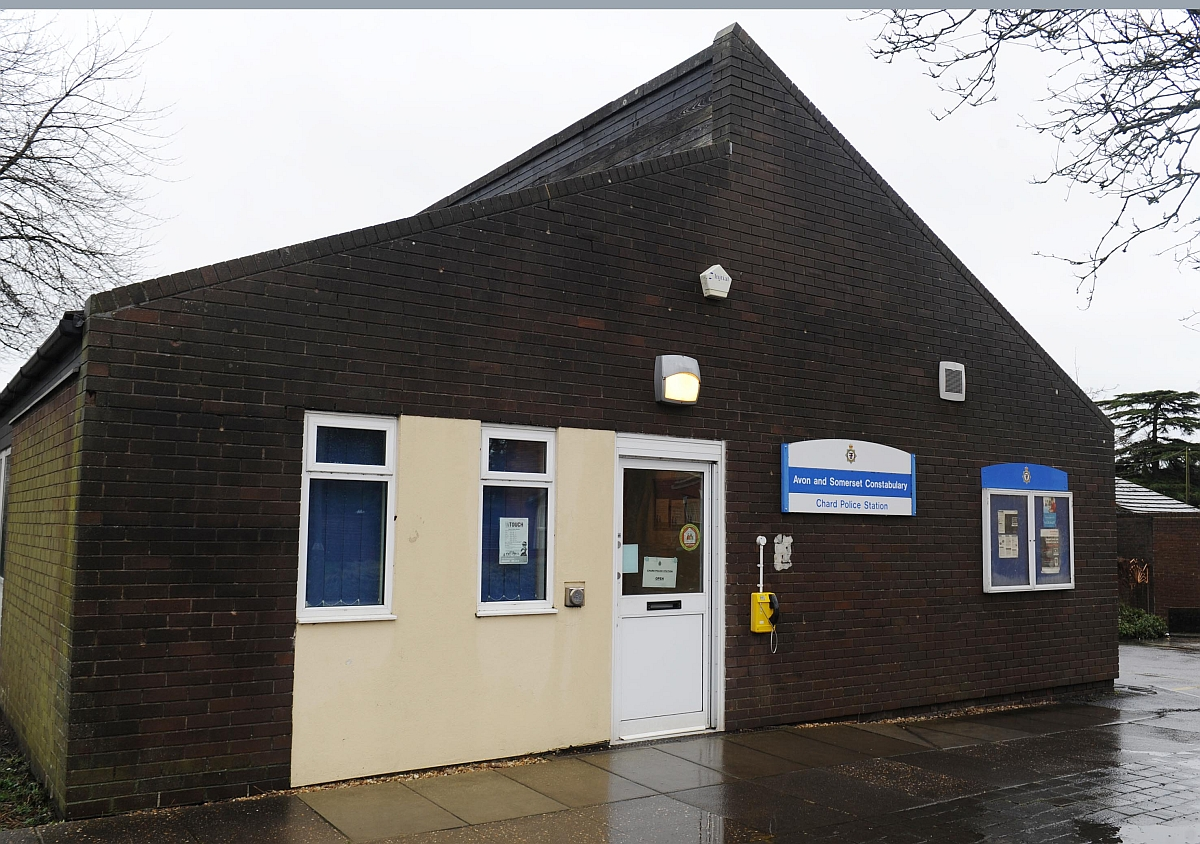 The police station in Chard.