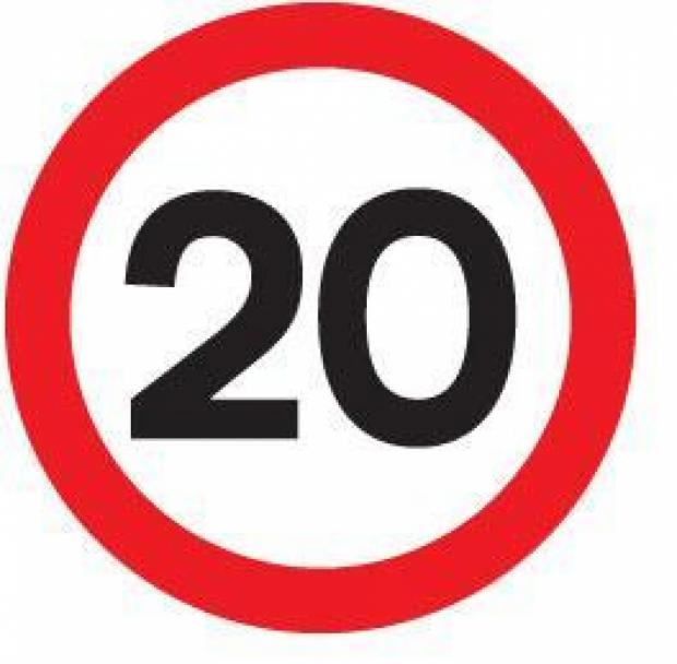 20mph limits - what do you t