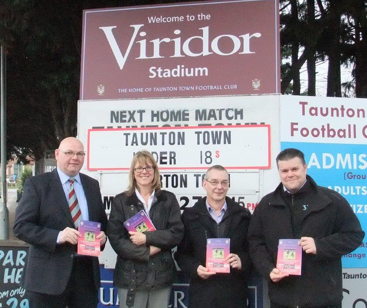 FOOTBALL: Viridor backs Taunton Town