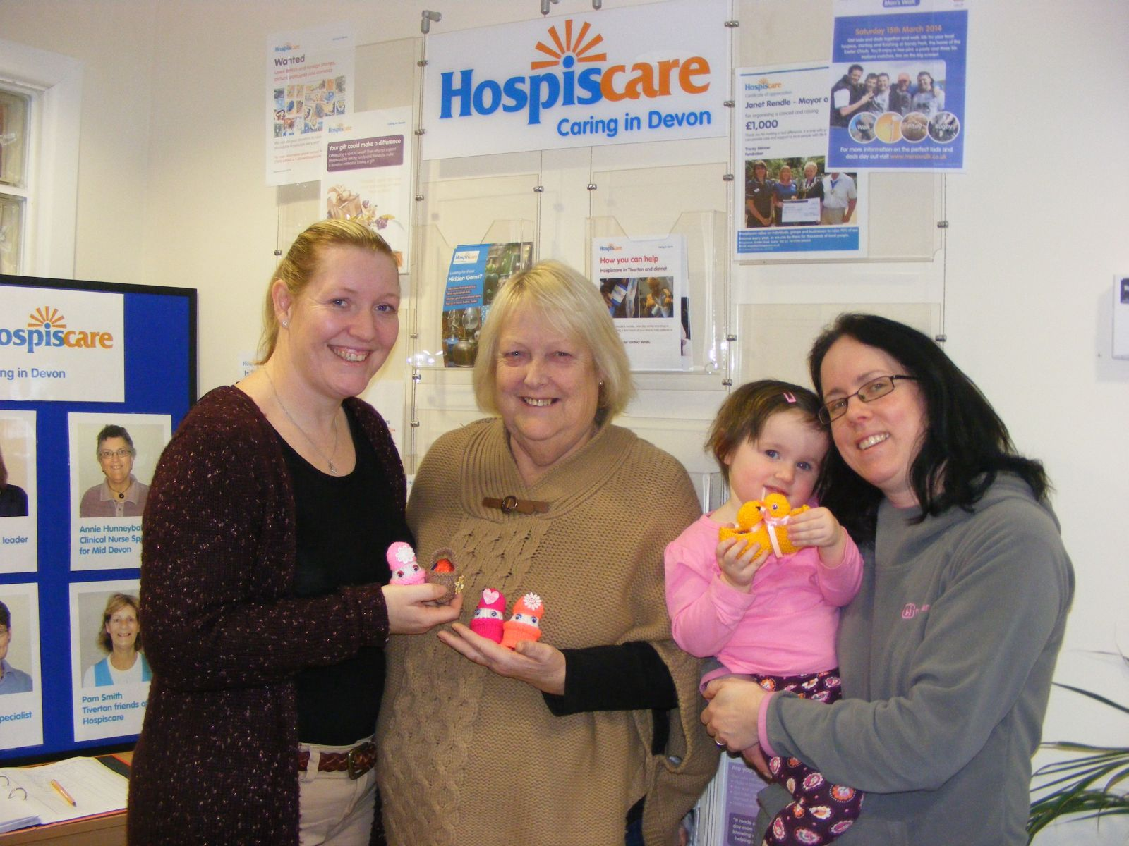 Knitting for Hospiscare