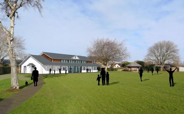 This is The West Country: A 3D-impression of how the pavilion in Williton could look. PHOTO: Reed Holland Associates Ltd