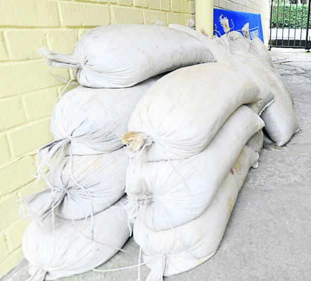 Sandbags removed from Somerset's flood-hit areas