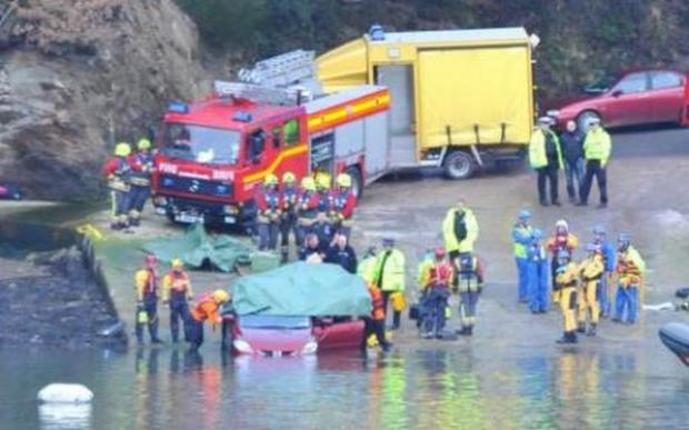 Inquest into death of woman after car rolled into River Fal at King Harry Ferry